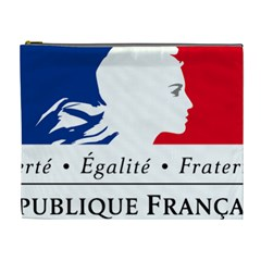 Symbol of the French Government Cosmetic Bag (XL)