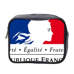 Symbol of the French Government Mini Toiletries Bag 2-Side