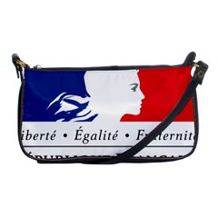 Symbol Of The French Government Shoulder Clutch Bags