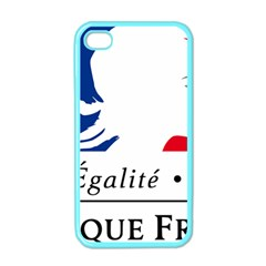 Symbol of the French Government Apple iPhone 4 Case (Color)