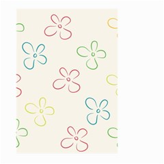 Flower Background Nature Floral Large Garden Flag (Two Sides)