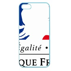 Symbol of the French Government Apple Seamless iPhone 5 Case (Color)