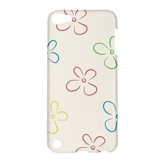 Flower Background Nature Floral Apple iPod Touch 5 Hardshell Case