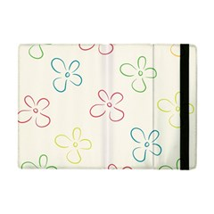 Flower Background Nature Floral Apple iPad Mini Flip Case