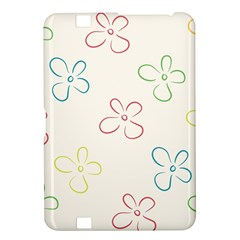 Flower Background Nature Floral Kindle Fire HD 8.9