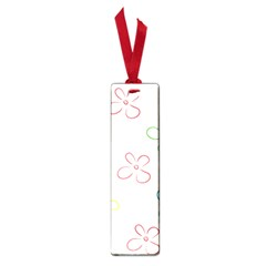 Flower Background Nature Floral Small Book Marks