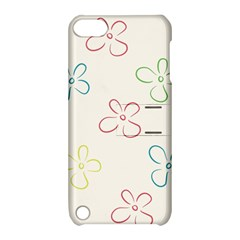 Flower Background Nature Floral Apple iPod Touch 5 Hardshell Case with Stand
