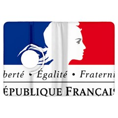 Symbol of the French Government Kindle Fire HDX Flip 360 Case