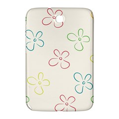 Flower Background Nature Floral Samsung Galaxy Note 8 0 N5100 Hardshell Case