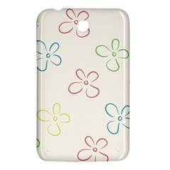 Flower Background Nature Floral Samsung Galaxy Tab 3 (7 ) P3200 Hardshell Case