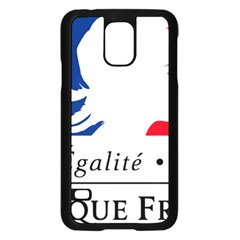 Symbol of the French Government Samsung Galaxy S5 Case (Black)