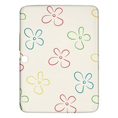 Flower Background Nature Floral Samsung Galaxy Tab 3 (10.1 ) P5200 Hardshell Case