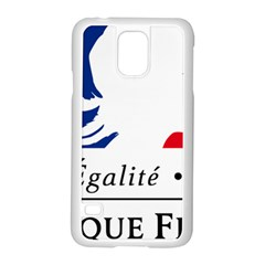 Symbol of the French Government Samsung Galaxy S5 Case (White)