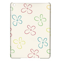Flower Background Nature Floral iPad Air Hardshell Cases