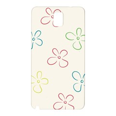 Flower Background Nature Floral Samsung Galaxy Note 3 N9005 Hardshell Back Case