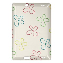 Flower Background Nature Floral Amazon Kindle Fire HD (2013) Hardshell Case