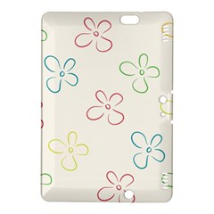 Flower Background Nature Floral Kindle Fire HDX 8.9  Hardshell Case