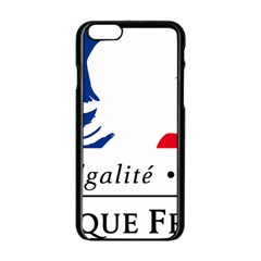 Symbol of the French Government Apple iPhone 6/6S Black Enamel Case