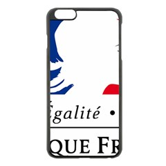 Symbol of the French Government Apple iPhone 6 Plus/6S Plus Black Enamel Case