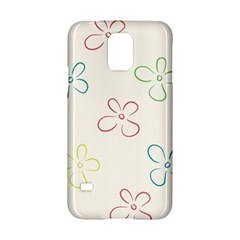 Flower Background Nature Floral Samsung Galaxy S5 Hardshell Case