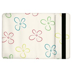 Flower Background Nature Floral iPad Air Flip