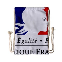 Symbol of the French Government Drawstring Bag (Small)
