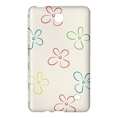Flower Background Nature Floral Samsung Galaxy Tab 4 (8 ) Hardshell Case