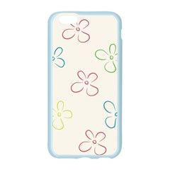 Flower Background Nature Floral Apple Seamless iPhone 6/6S Case (Color)