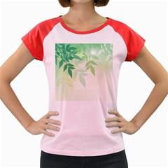 Spring Leaves Nature Light Women s Cap Sleeve T-Shirt