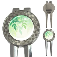 Spring Leaves Nature Light 3-in-1 Golf Divots
