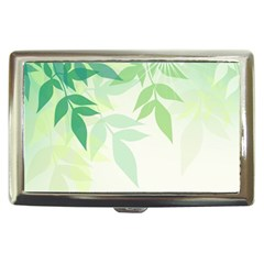Spring Leaves Nature Light Cigarette Money Cases
