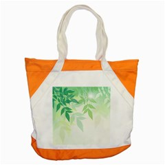 Spring Leaves Nature Light Accent Tote Bag