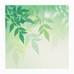 Spring Leaves Nature Light Medium Glasses Cloth