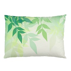 Spring Leaves Nature Light Pillow Case