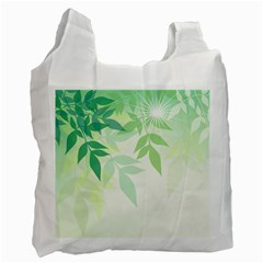 Spring Leaves Nature Light Recycle Bag (two Side)