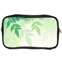 Spring Leaves Nature Light Toiletries Bags