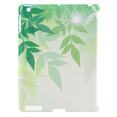 Spring Leaves Nature Light Apple iPad 3/4 Hardshell Case (Compatible with Smart Cover)