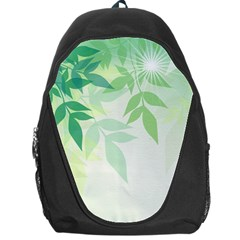 Spring Leaves Nature Light Backpack Bag