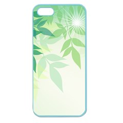 Spring Leaves Nature Light Apple Seamless iPhone 5 Case (Color)