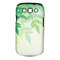 Spring Leaves Nature Light Samsung Galaxy S III Classic Hardshell Case (PC+Silicone)
