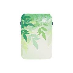 Spring Leaves Nature Light Apple Ipad Mini Protective Soft Cases