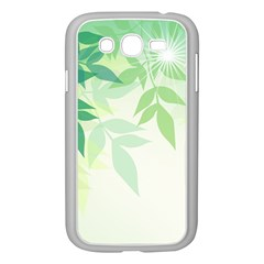 Spring Leaves Nature Light Samsung Galaxy Grand DUOS I9082 Case (White)