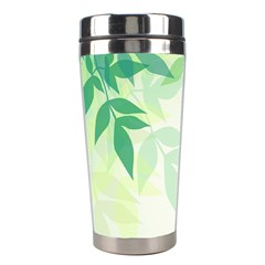 Spring Leaves Nature Light Stainless Steel Travel Tumblers