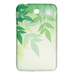 Spring Leaves Nature Light Samsung Galaxy Tab 3 (7 ) P3200 Hardshell Case