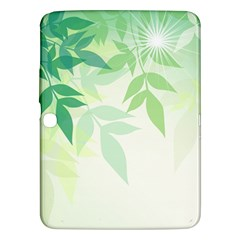 Spring Leaves Nature Light Samsung Galaxy Tab 3 (10.1 ) P5200 Hardshell Case
