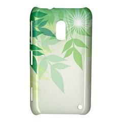 Spring Leaves Nature Light Nokia Lumia 620
