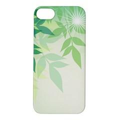 Spring Leaves Nature Light Apple iPhone 5S/ SE Hardshell Case