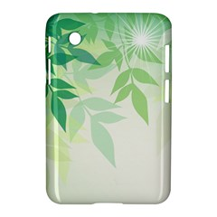 Spring Leaves Nature Light Samsung Galaxy Tab 2 (7 ) P3100 Hardshell Case