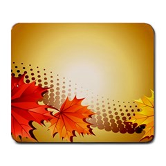 Background Leaves Dry Leaf Nature Large Mousepads