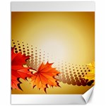Background Leaves Dry Leaf Nature Canvas 16  x 20   20 x16 Canvas - 1